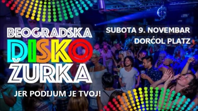 Beogradska Disko žurka  u Dorćol Platzu 2
