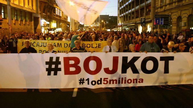 """Protesti """"1 od 5 miliona"""" 4. januara u Kragujevcu i Beogradu 4"""