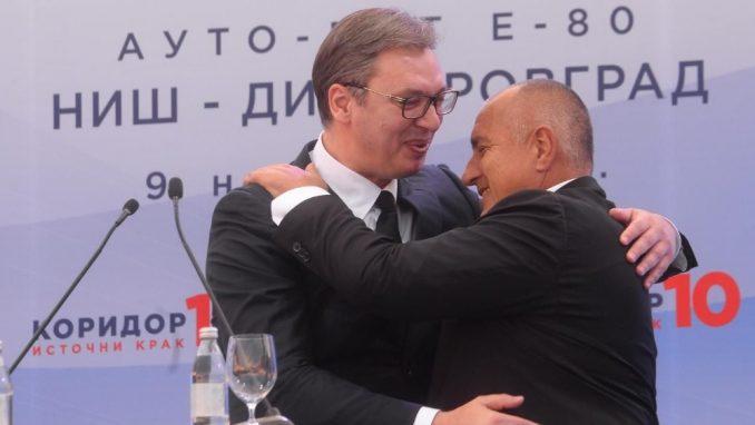 Vučić i Borisov obilaze radove na gasovodu Balkanski tok 1