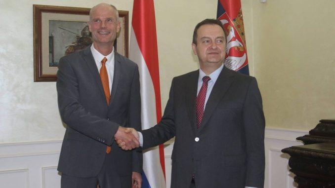 Dačič i holandski ministar Blok: Dve zemlje dobri partneri u oblasti ekonomije 2