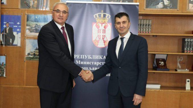 Đorđević razgovarao sa novopostavljenim ambasadorom Crne Gore 2
