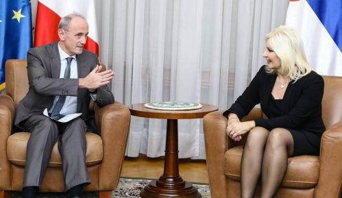 Mihajlović sa ambasadorom Francuske o izgradnji beogradskog metroa 15