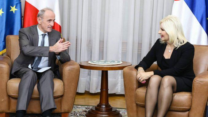 Mihajlović sa ambasadorom Francuske o izgradnji beogradskog metroa 1