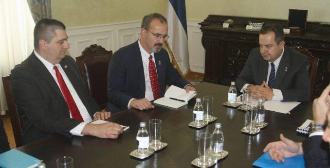 Ambasada SAD: Cilj posete Zarzeckog nije bio da saopšti odluku o sankcijama 1