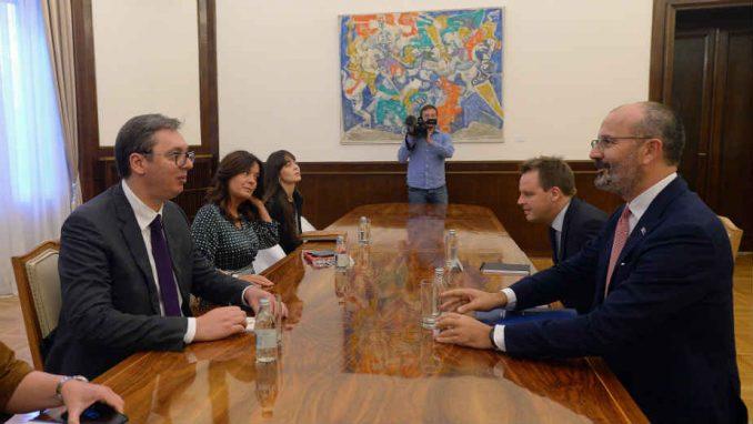 Vučić razgovarao sa Fabricijem o evropskim integracijama, dijalogu sa Prištinom i životnoj sredini 1