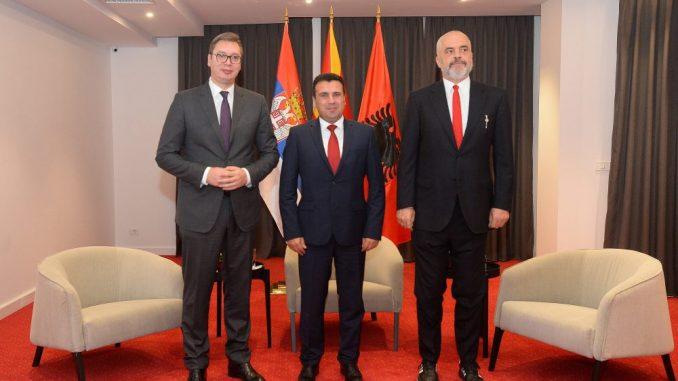 Vučić sa Ramom i Zaevim: Kriza dodatno naglasila potrebu za intenziviranjem saradnje 2