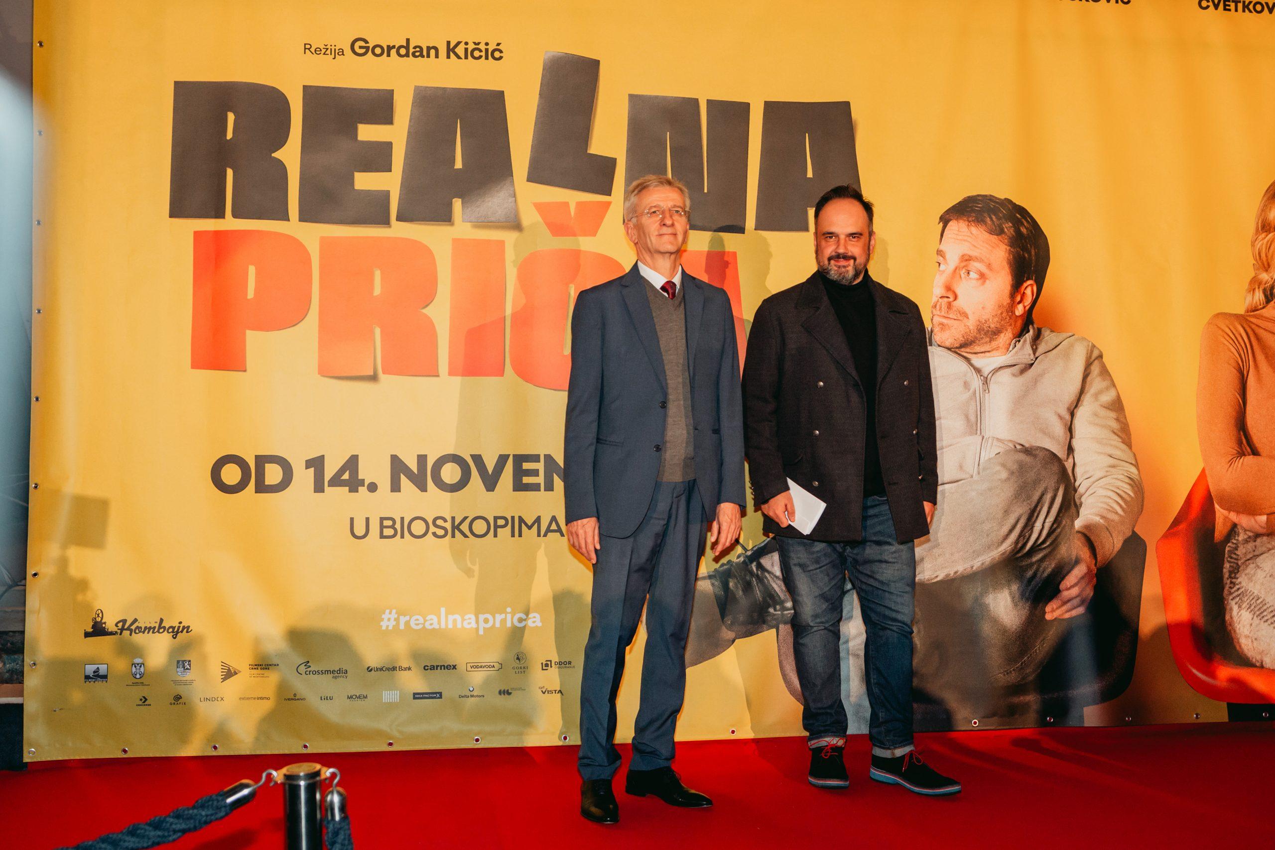 """Film """"Realna priča"""" Gordana Kičića nasmejao i raznežio publiku (FOTO) 2"""