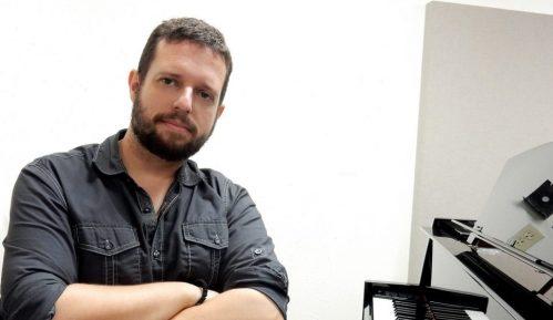 Dimitrije Vasiljević i David Bižić u toku decembra u Beogradu 1
