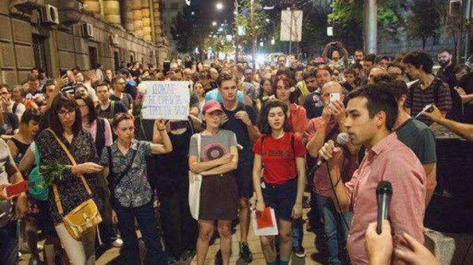 Dobrica Veselinović: Kriv sam što sam organizovao protest zbog pogibije radnika 3