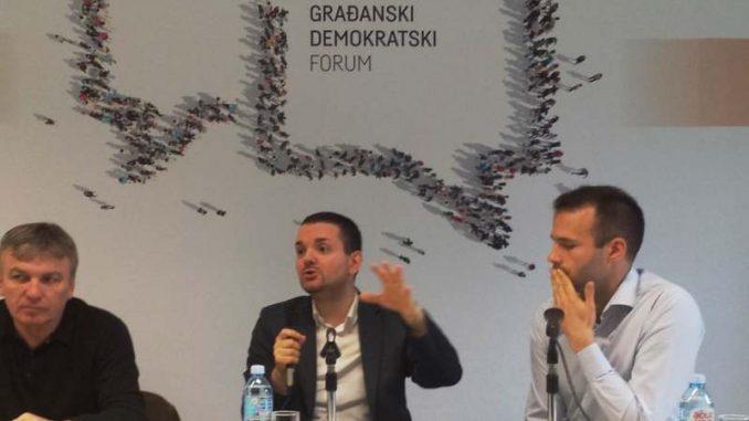Tribina o uzbunjivačima Građanskog demokratskog foruma 3