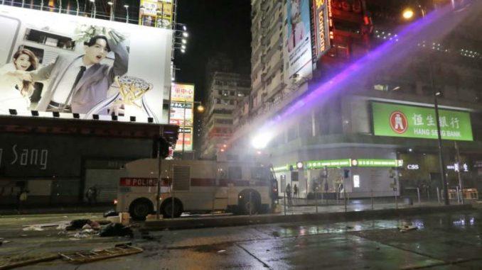 Ponovo haos na ulicama Hongkonga 4