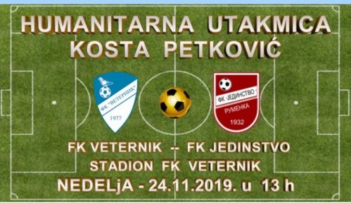 Humanitarna utakmica na stadionu FK Veternik 24. novembra 1