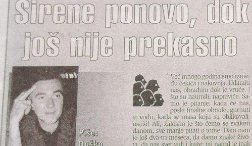 Dušan Kovačević 1999: Pozicija i opozicija užasno loše putujuće pozorište 1