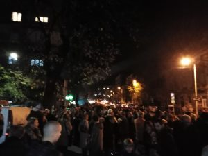 Protest građana Starog grada zbog izmeštanja trolejbuskih linija 3