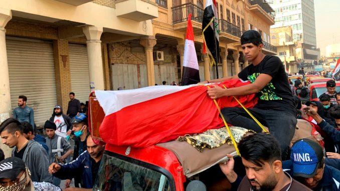 Šest demonstranata ubijeno na protestima u Iraku 1