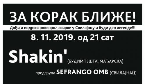 Mađarski bend Shakin u Svilajncu 1