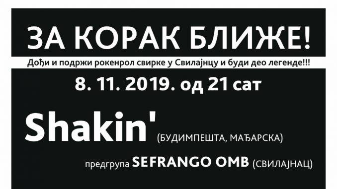 Mađarski bend Shakin u Svilajncu 2