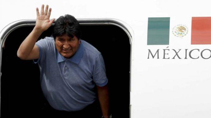 Evo Morales stigao u Meksiko 2