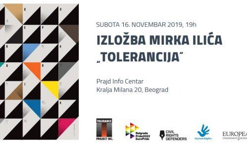 "Izložba ""Tolerancija"" 16. novembra u Prajd Info Centru 2"