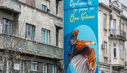 Na Dorćolu osvanuo mural posvećen orlu krstašu 3