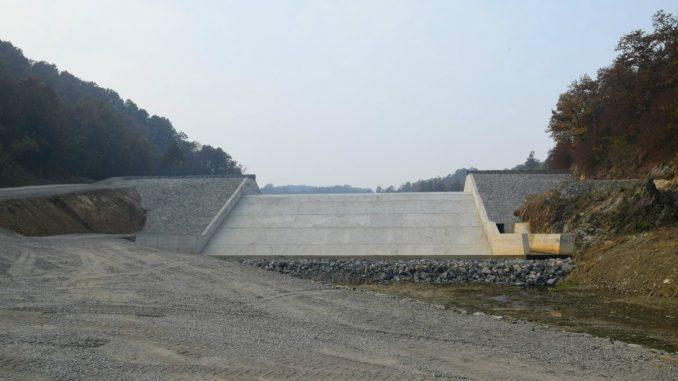 Završena brana na Busuru, projekat od 190 miliona dinara 2