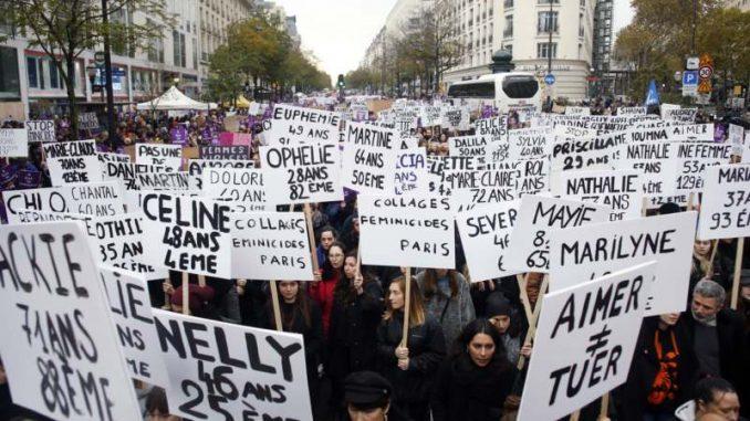 Najmanje 49.000 ljudi u Parizu na protestu protiv nasilja nad ženama 5