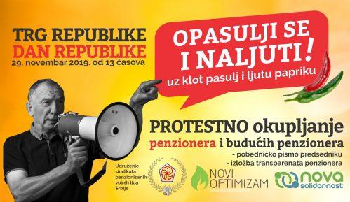 """Opasulji se i naljuti"" protestno okupljanje penzionera na Trgu republike 29. novembra 6"