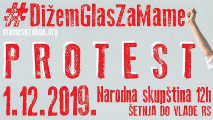 """Mame su zakon"" organizuj novi protest 1. decembra 4"