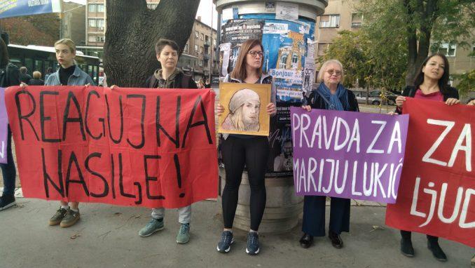 Podrška za Mariju Lukić u slučaju protiv Jutke 3