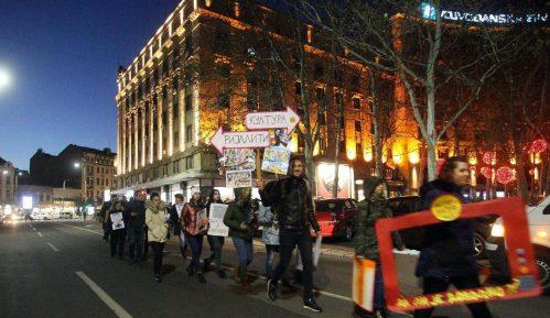 Protest ispred REM-a, više od 42 hiljade potpisa građana protiv rijalitija 7