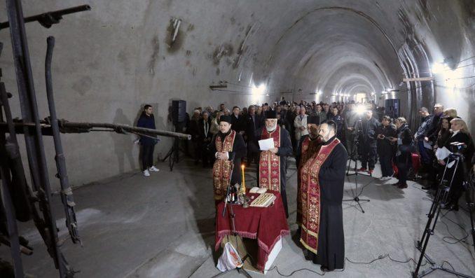 Sećanje na poginule u Partizanskoj fabrici oružja u Užicu 1
