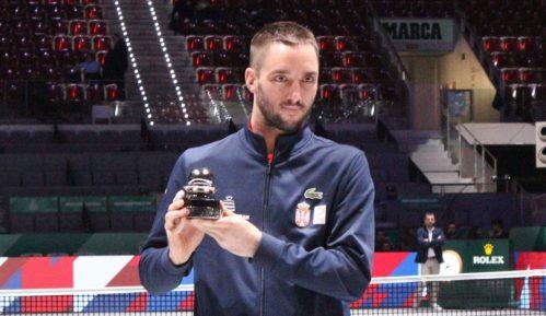 Troicki dobio Dejvis kup nagradu od ITF-a 15