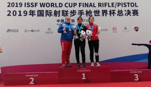 Zorana Arunović osvojila srebro vazdušnim pištoljem na finalu Svetskog kupa 1