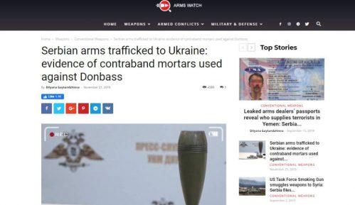 Arms voč: Minobacačke mine iz Krušika korišćene protiv proruskih snaga u Donbasu 1
