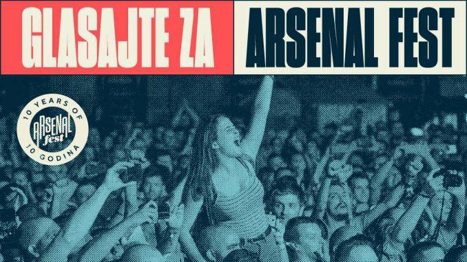 Arsenal fest u konkurenciji za European Festival Awards 2