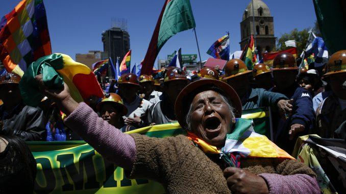 Privremena vlada Bolivije optužila Moralesa za terorizam i podsticanje na pobunu 2
