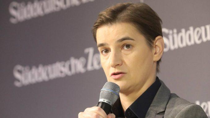 Premijerka Brnabić na GovTech samitu u Parizu 2