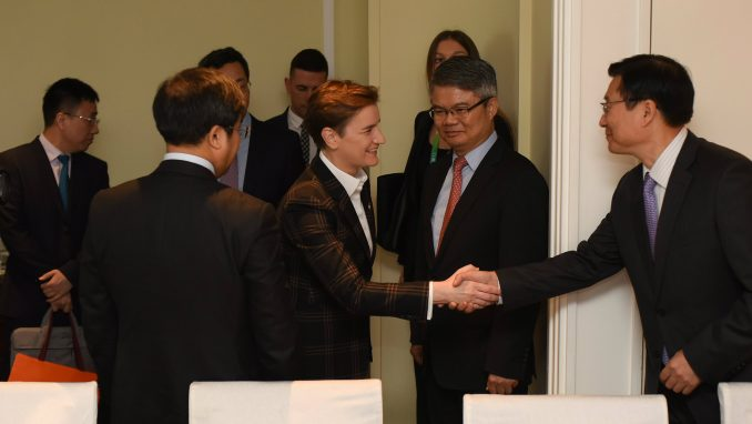 Brnabić razgovarala sa predstavnicima Hbisa, Huaveja i Banke Kine 3