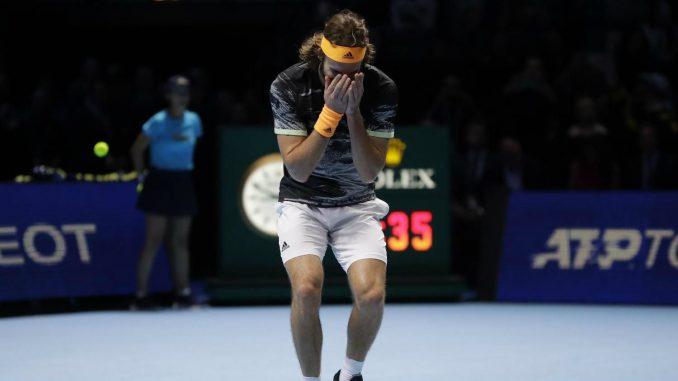 Cicipas osvojio završni masters turnir u Londonu 3