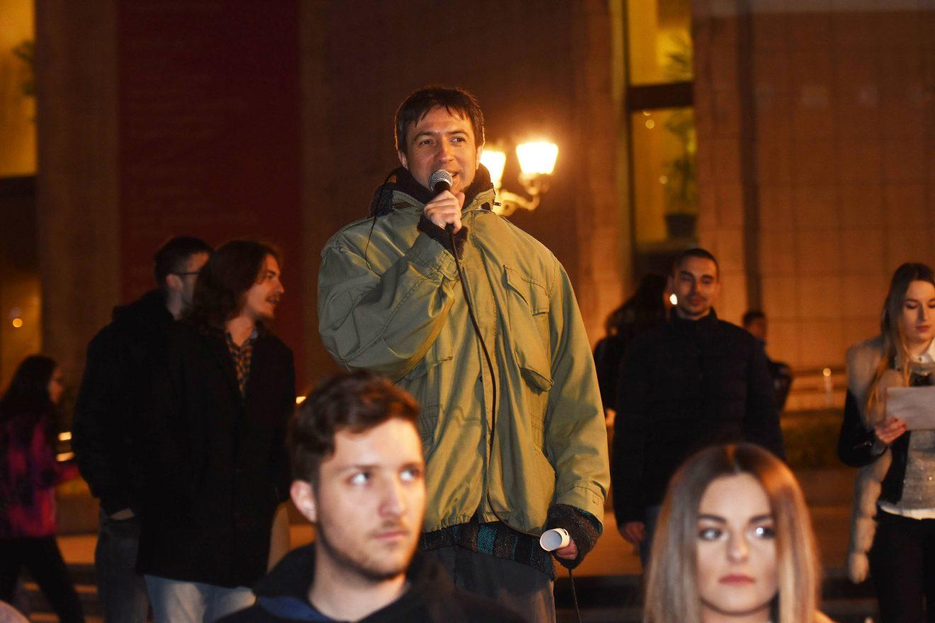 Protest SZS u Novom Sadu: Siniša Mali i cela vlada Srbije moraju da odu (FOTO) 3