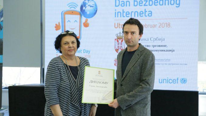 """Treća nagrada za nastavnika OŠ """"8. septembar"""" iz Pirota Gorana Antonijevića 1"""