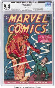 Prvi Marvelov strip prodat na aukciji za rekordnu cenu 2