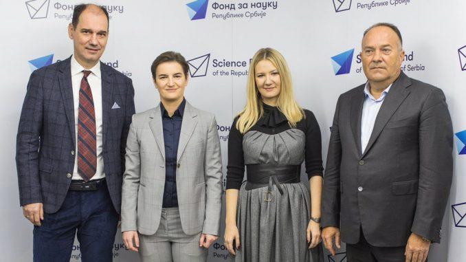 Do kraja godine još 6.200.000 evra kroz programe Fonda za nauku 2