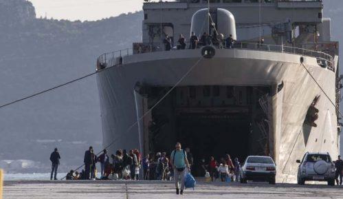 Grčka vlada naišla na otpor stanovništva zbog prebacivanja migranata 5
