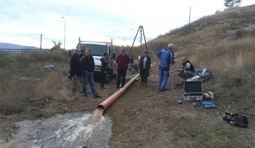 Nove količine vode sa izvorišta 7
