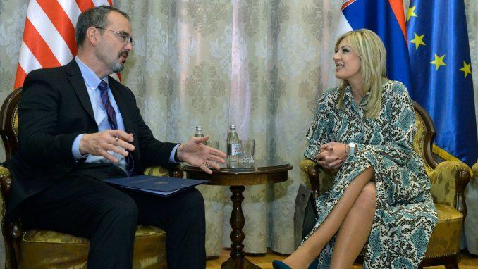 Joksimović i Godfri: SAD snažno podržavaju reforme i evropski put Srbije 2