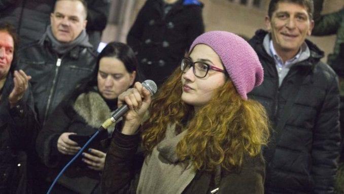 Jelena Anasonović: Od početka je bilo pritisaka opozicije, pokušali su da preuzmu protest 13