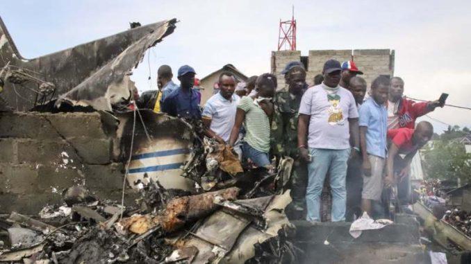 Avion pao na kuće u Kongu, najmanje 27 mrtvih 2