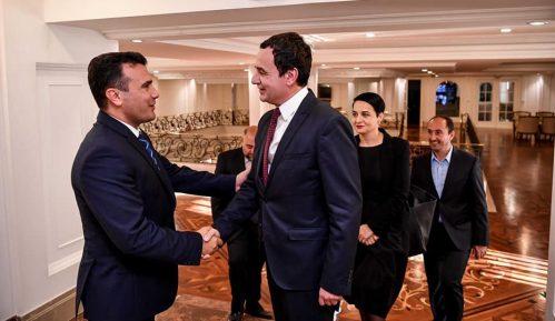 Zaev sa Kurtijem razgovarao o jačanju odnosa Severne Makedonije i Kosova 9