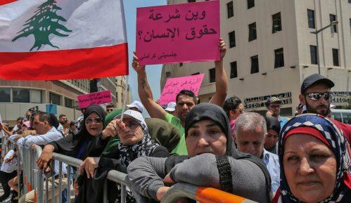 Libanski demonstranti nastavili blokadu puteva 13